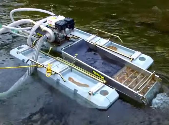 Extreme Underwater Dredging