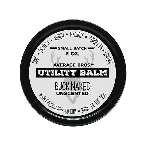 Buck Naked - Unscented - Utility Balm