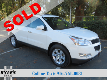 2012 Chevrolet Traverse- AWD- Low Miles!