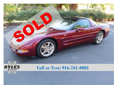 2003 Chevrolet Corvette - 50th Anniversary!