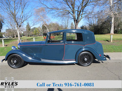 1937 Rolls Royce 25/30 Sedanca - Pristine!