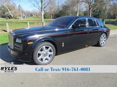 2013 Rolls Royce Phantom - Only 7K Miles!