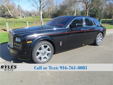 2013 Rolls Royce Phantom - Only 7K Miles!