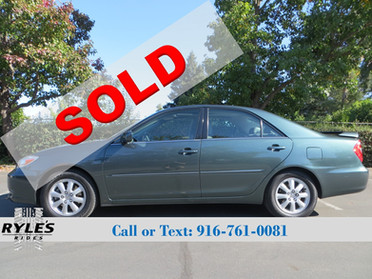 2002 Toyota Camry - Only 60K Miles!