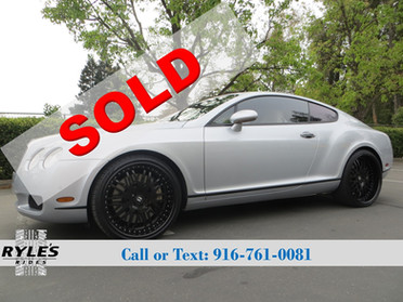 2005 Bentley Continental GT - Only 53K Miles!