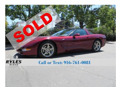 2003 Chevrolet Corvette 50th Anniversary - Only 52K Miles!