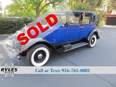 1927 Buick Master 6 Opera Sedan!