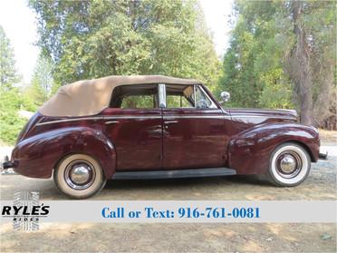 1940 Mercury Eight Sedan Convertible - One of 980!