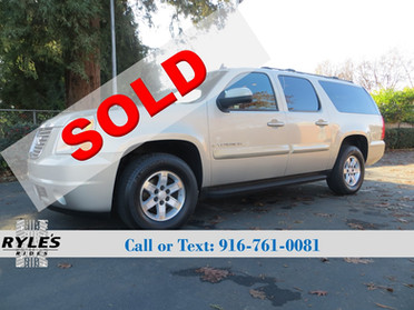 2007 GMC Yukon XL - One Owner! Low Miles!