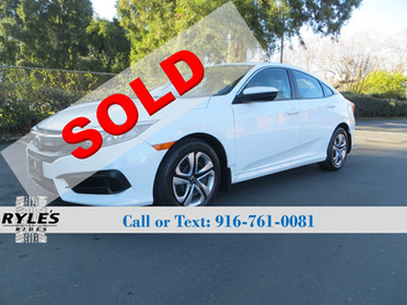 2016 Honda Civic LX - Only 23K Miles!