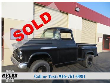 1957 Chevrolet 3100 Deluxe - NAPCO!!!