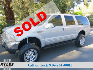 2001 Ford Excursion - 7.3L Diesel! Low Miles!