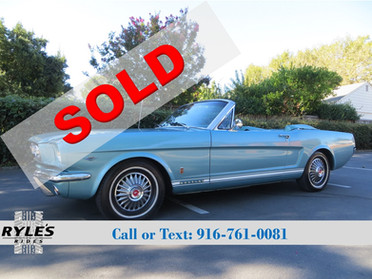 1966 Ford Mustang Convertible GT Clone!