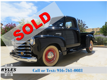 1950 Chevrolet 3100 Pickup - Full Restoration