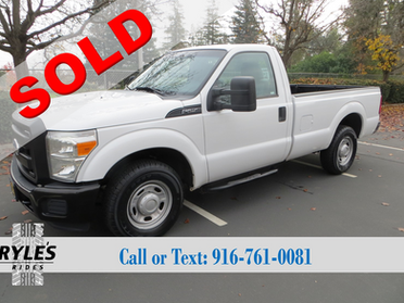 2011 Ford F250 - Clean!