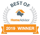 A rating on HomeAdvisor