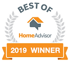 5 star rated on HomeAdvisor