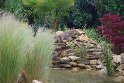 cascade en pierres sèches