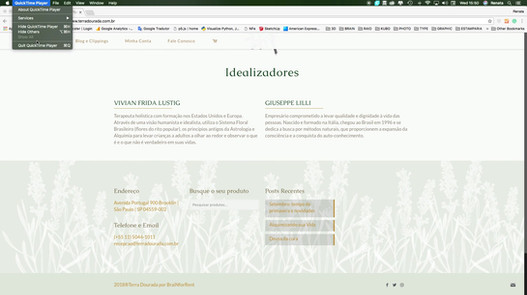 Terra Dourada - novo site