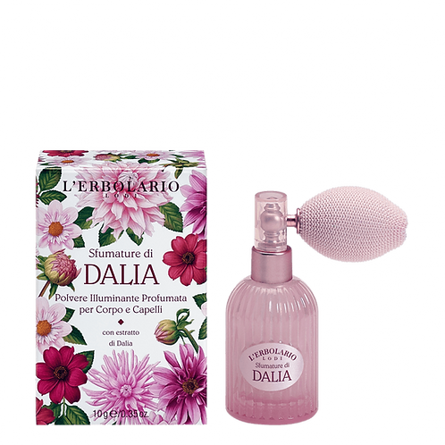 Shades of Dahlia Perfumed Illuminating Powder for Body and Hair