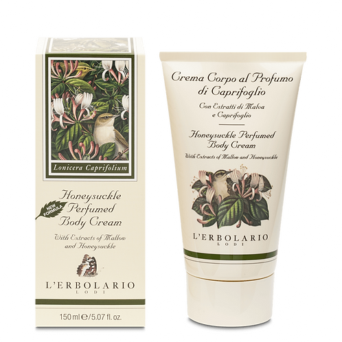 Honeysuckle Perfumed Body Cream