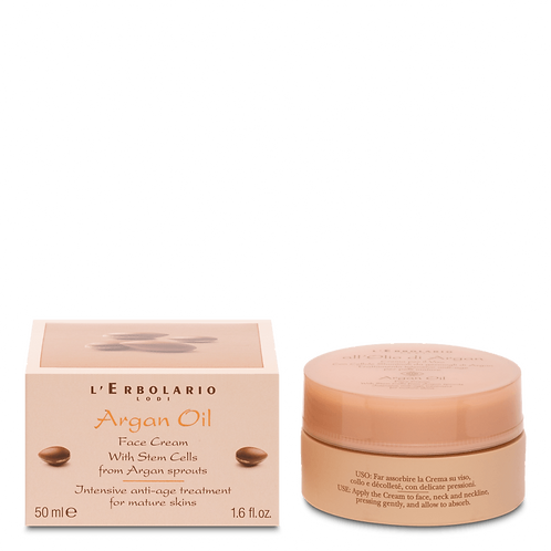Argan Oil Face Cream with Stem Cells from Argan Sprouts