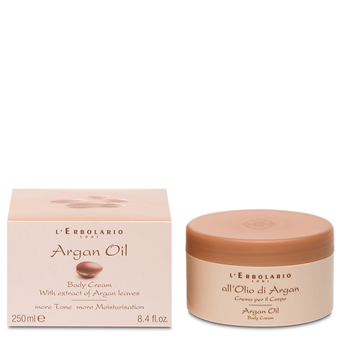 Argan Oil Body Cream with extract of Argan Leaves