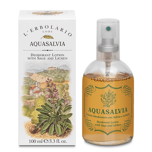 Aquasalvia Deodorant Lotion