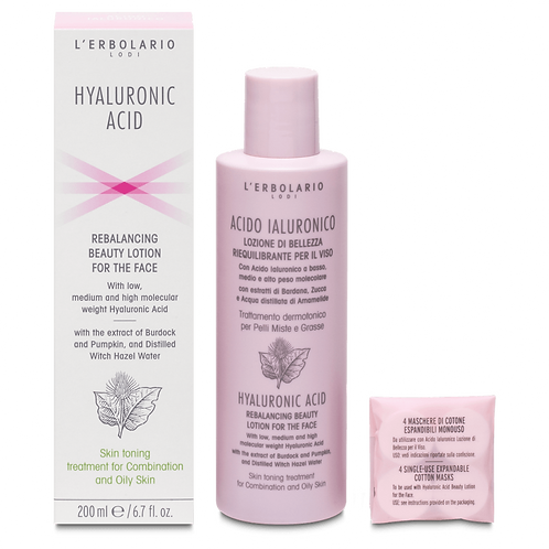 Hyaluronic Acid Rebalancing Beauty Lotion for the Face