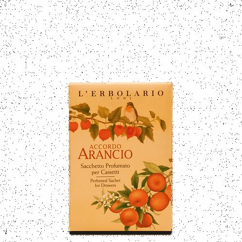 Accordo Arancio Perfumed Sachet for Drawers