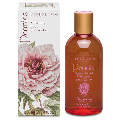 Peonies Softening Body Shower Gel
