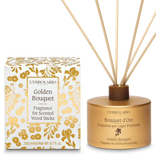 Golden Bouquet Fragrance for Scented Wood Sticks