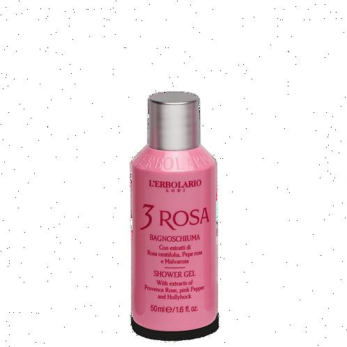 3 Rosa Shower Gel (50 ml)
