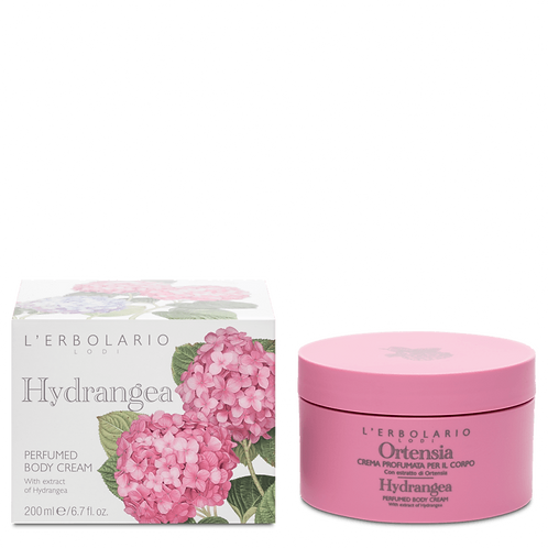 Hydrangea Perfumed Body Cream