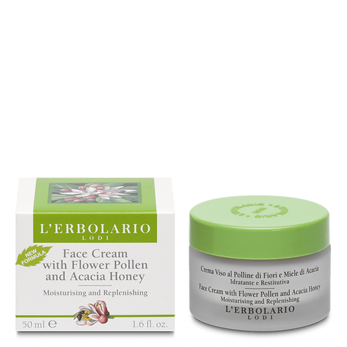 Face Cream with Flower Pollen and Acacia Honey