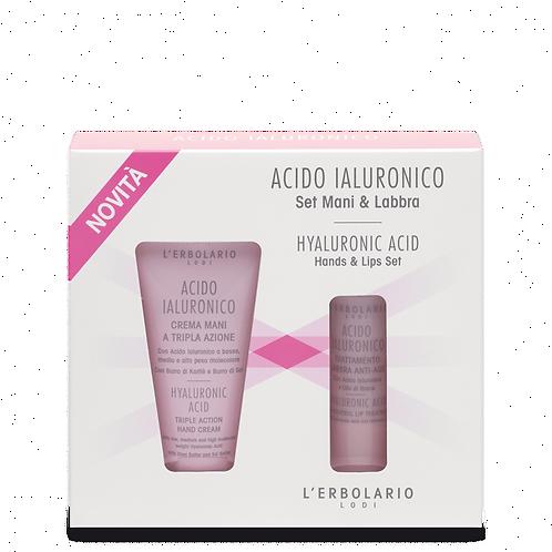 Hyaluronic Acid Hands & Lips Set