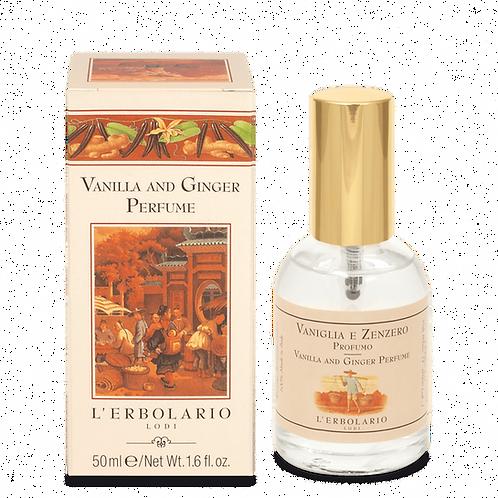 Vanilla and Ginger Perfume