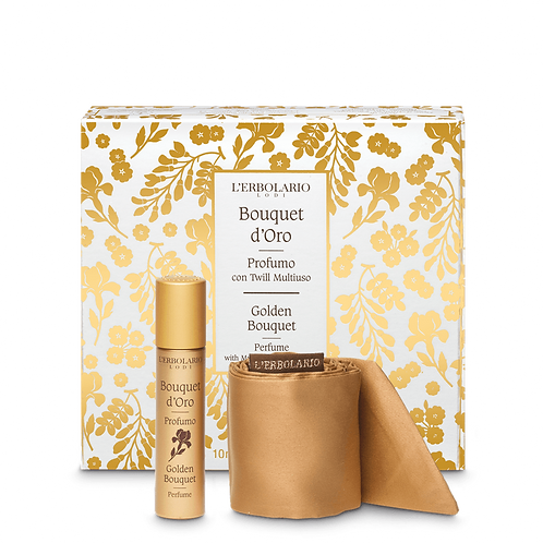 Golden Bouquet Perfume with Multipurpose Twill Band