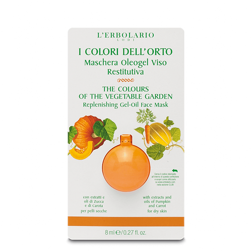 The Colours of the Vegetable Garden Ultra Replenishing Gel-Oil Face Mask