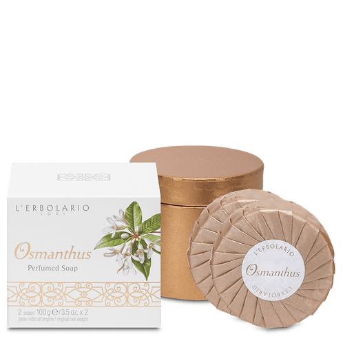 Osmanthus Perfumed Soap (set of two)
