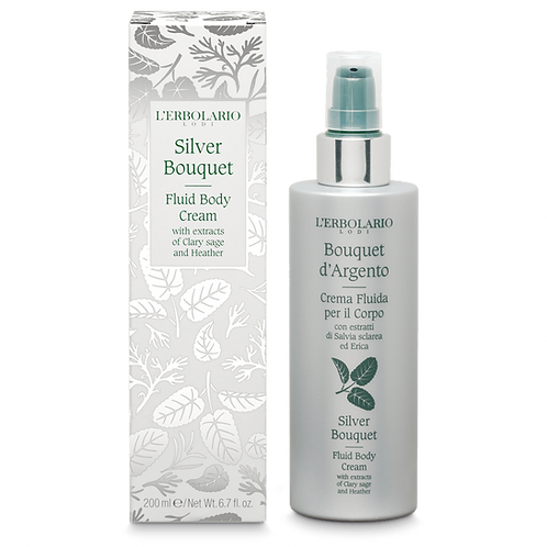 Silver Bouquet Fluid Body Cream