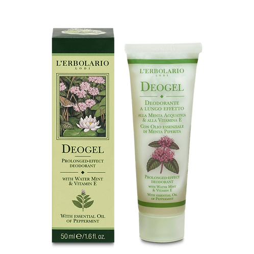 Deogel Prolonged-Effect Deodorant with Water Mint and Vitamin E