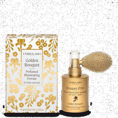 Golden Bouquet Perfumed Illuminating Powder