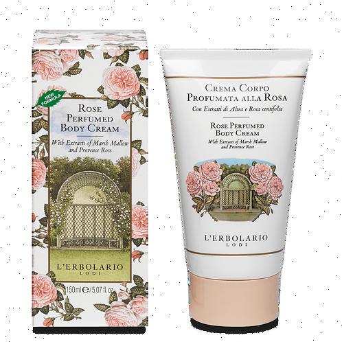 Rose Perfumed Body Cream