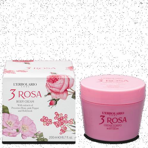 3 Rosa Body Cream