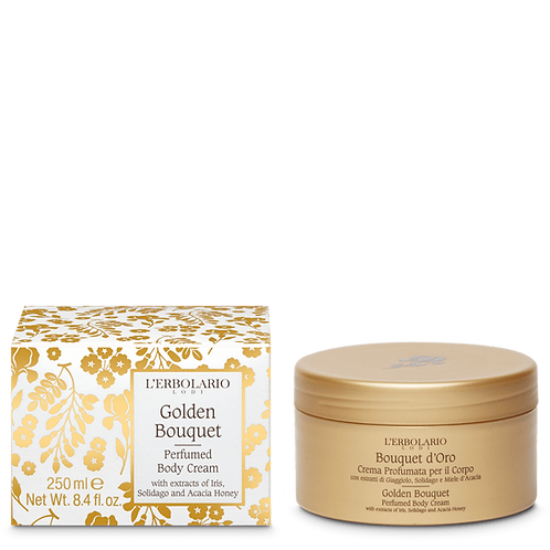 Golden Bouquet Perfumed Body Cream