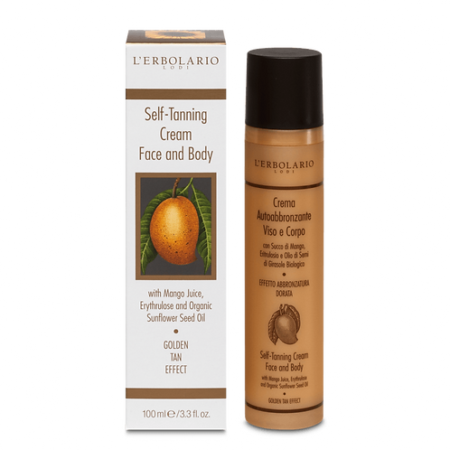 Self-Tanning Cream Face and Body