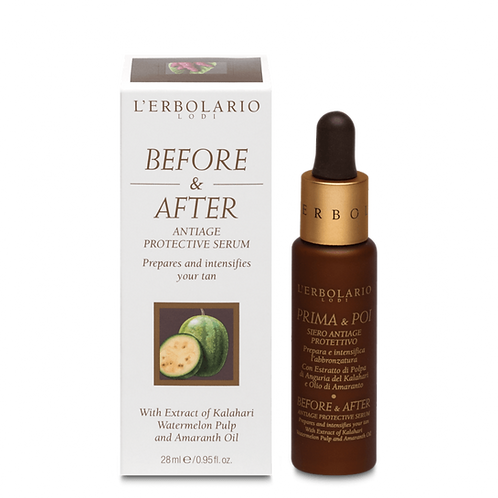 Before & After Antiage Protective Serum
