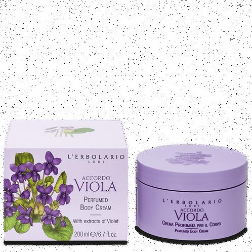 Accordo Viola Perfumed Body Cream