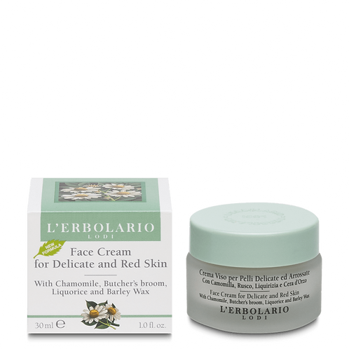 Face Cream for Delicate and Red Skin